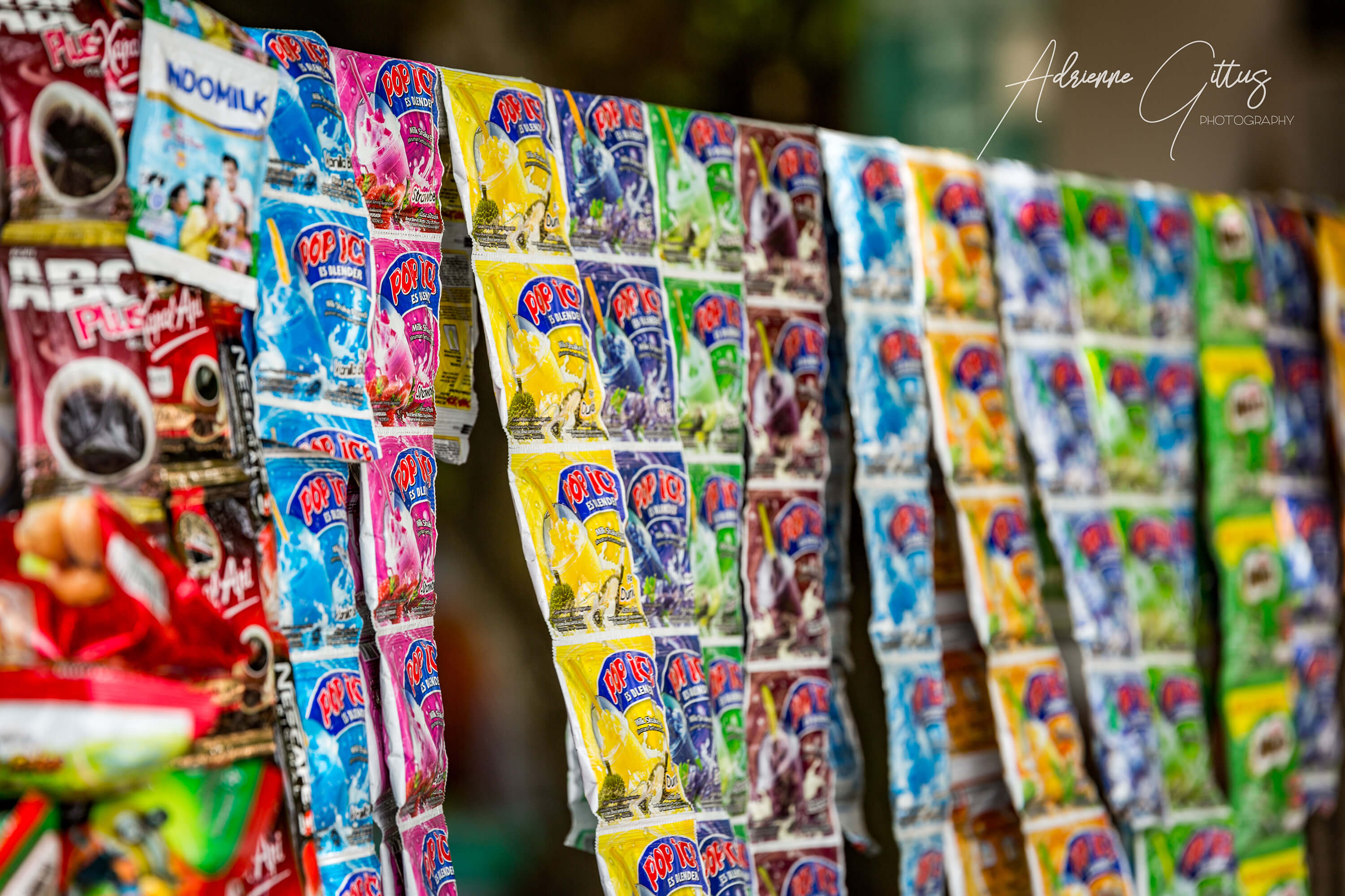 Local stall in Bali