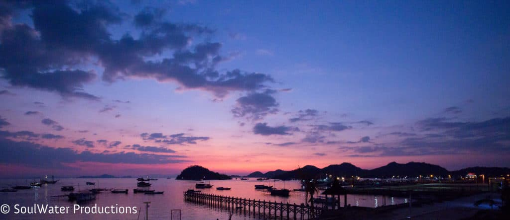 Komodo National Park: View from Labuan Bajo