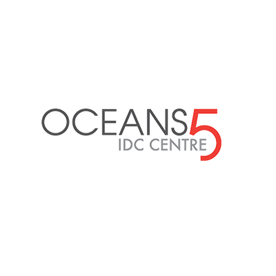 Oceans 5 IDC Centre logo