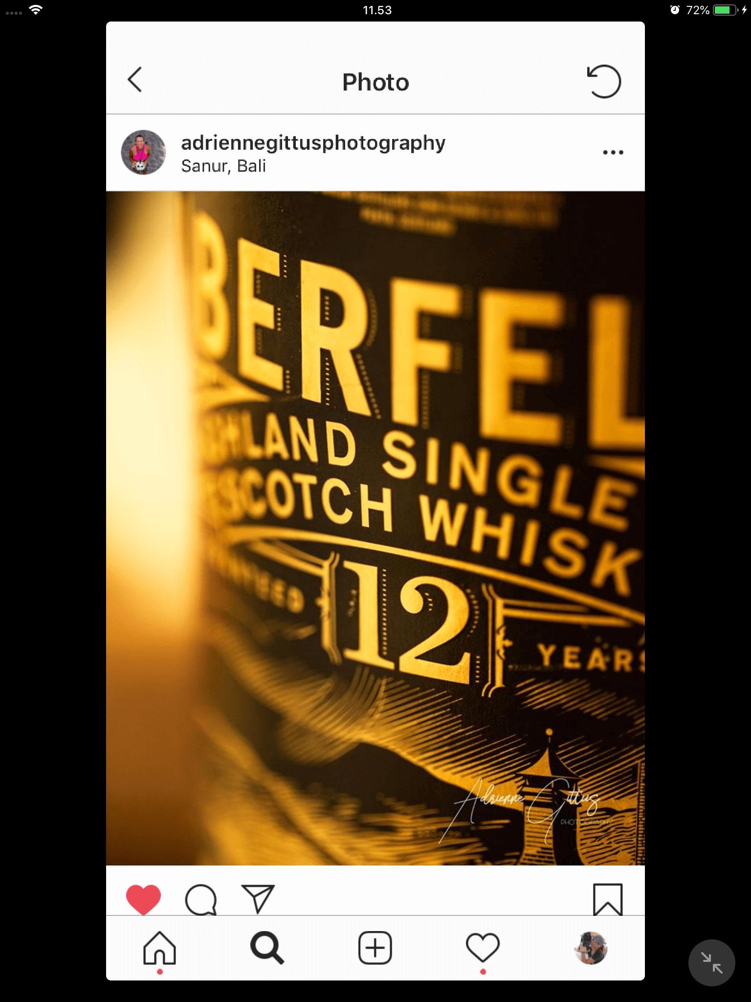 Product photo Aberfeldy Single Malt Whisky