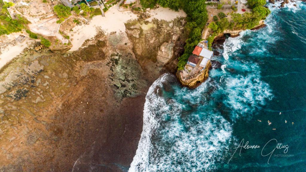 Mahana Point, Nusa Ceningan, Bali, Indonesia, drone, aerial
