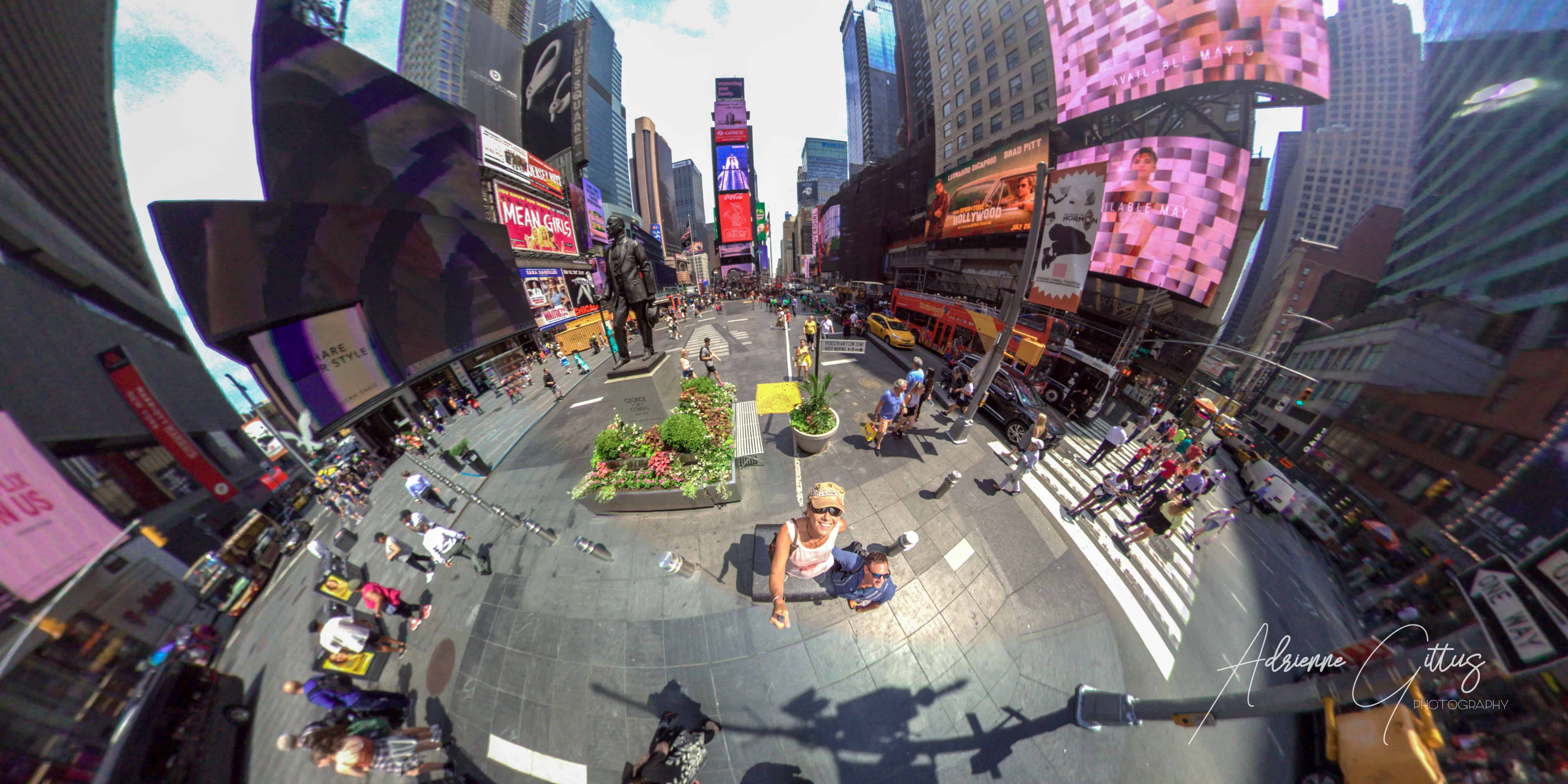 Times Square, New York City, 360 panoramic